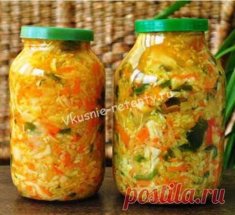 Салат из капусты рецепт - Рецепты приготовления