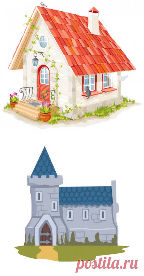 Стоковые иллюстрации на тему Черепичная крыша, роялти-фри графика на тему Черепичная крыша | Скачать на Depositphotos®