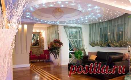 Светодиодные лампочки для навесной конструкции, встраиваемое освещение в квартире