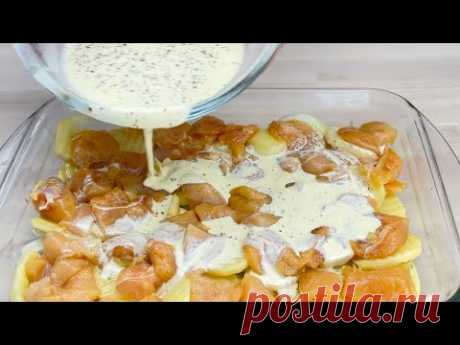 Приготовьте таким образом курицу и картофель, и вы получите потрясающий результат # 101
