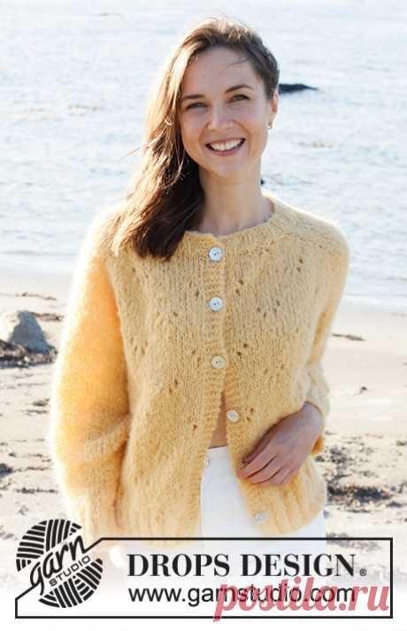 Жакет Sunshine Impressions - блог экспертов интернет-магазина пряжи 5motkov.ru