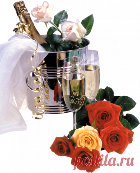 Открытка с днем рождения мужские цветы