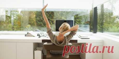 Йога в офисе. Экспресс-зарядка для бодрости на рабочем месте