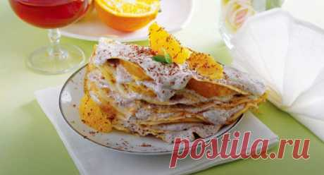 Десерт из блинов - Пошаговый рецепт с фото своими руками Десерт из блинов - Простой пошаговый рецепт приготовления в домашних условиях с фото. Десерт из блинов - Состав, калорийность и ингредиенти вкусного рецепта.