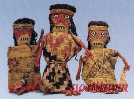 Muñecas Chancay Textil