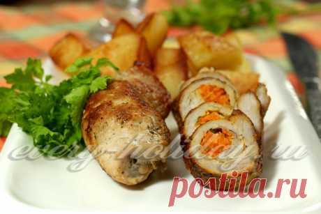 Рулетики из свинины: рецепт с фото Рулетики из свинины, приготовленные по нашему рецепту с фото, подойдут на любой стол и праздничный в том числе. Получаются очень вкусно и сытно.