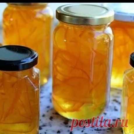 Апельсиновый конфитюр   Самые вкусные кулинарные рецепты
