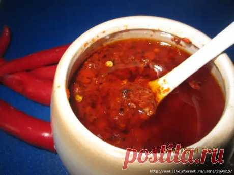 Лазжан - острый соус - Вкусно с Любовью - медиаплатформа МирТесен