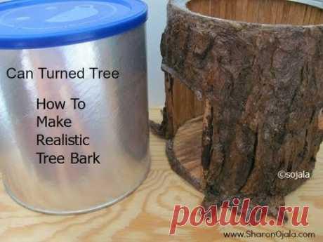 Make Realistic Tree Bark