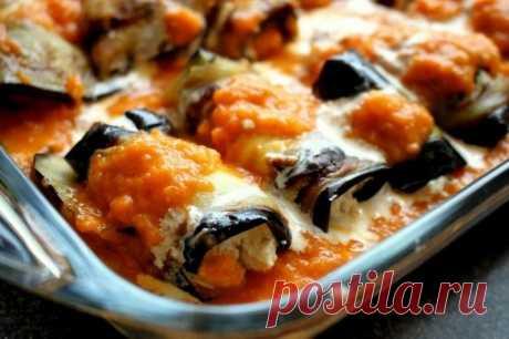 Как приготовить итальянские рулетики из баклажана - рецепт, ингредиенты и фотографии