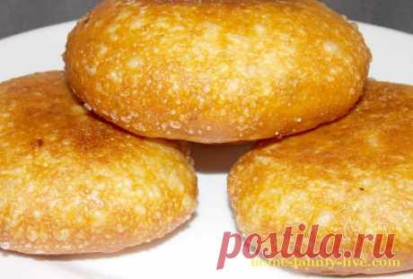 Пирожки с мясом жареные/Сайт с пошаговыми рецептами с фото для тех кто любит готовить