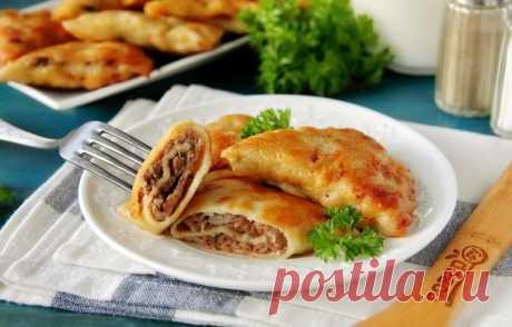 Бендерики с мясом - пошаговый рецепт с фото на Повар.ру