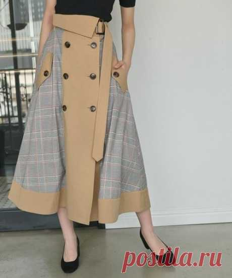 Словно из плаща (подборка) Модная одежда и дизайн интерьера своими руками