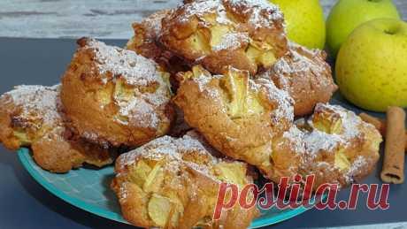 Полезное и вкусное яблочное печенье, которое очень любят в нашей семье. Делюсь простым рецептом | Книга Рецептов | Яндекс Дзен