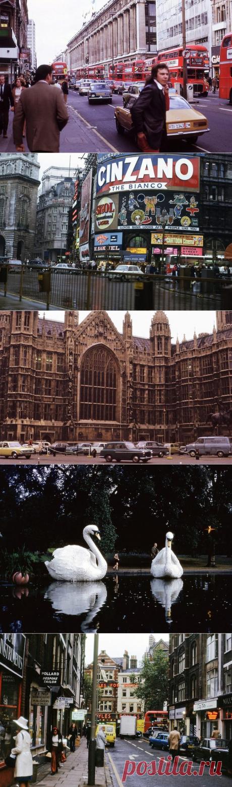 ФотоТелеграф » Лондон в 1970-х годах на фотографиях неизвестного американского туриста