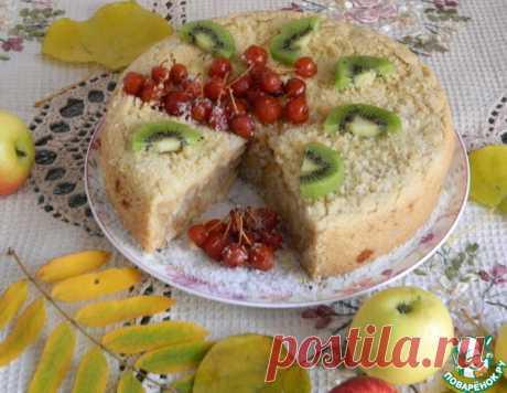 """Яблочный кухен """"Экономично, быстро, вкусно"""" – кулинарный рецепт"""