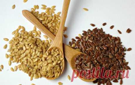 Плохие побочные эффекты при употреблении семян льна — Модно / Nemodno