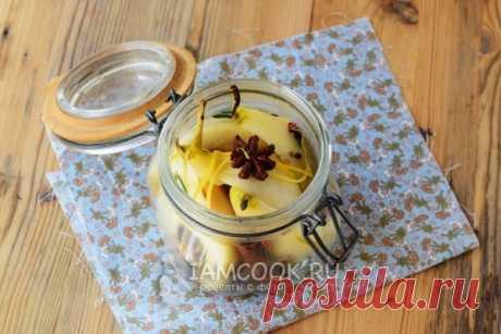 Груши, маринованные на зиму — рецепт с фото пошагово