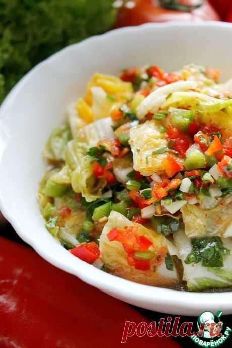 Маринованная пекинская капуста – кулинарный рецепт