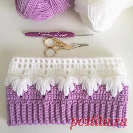 CROCHET How to Crochet the Puff Spike Stitch - CROCHET WORKS