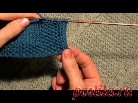 Как обработать край изделия полым шнуром (I-CORD)