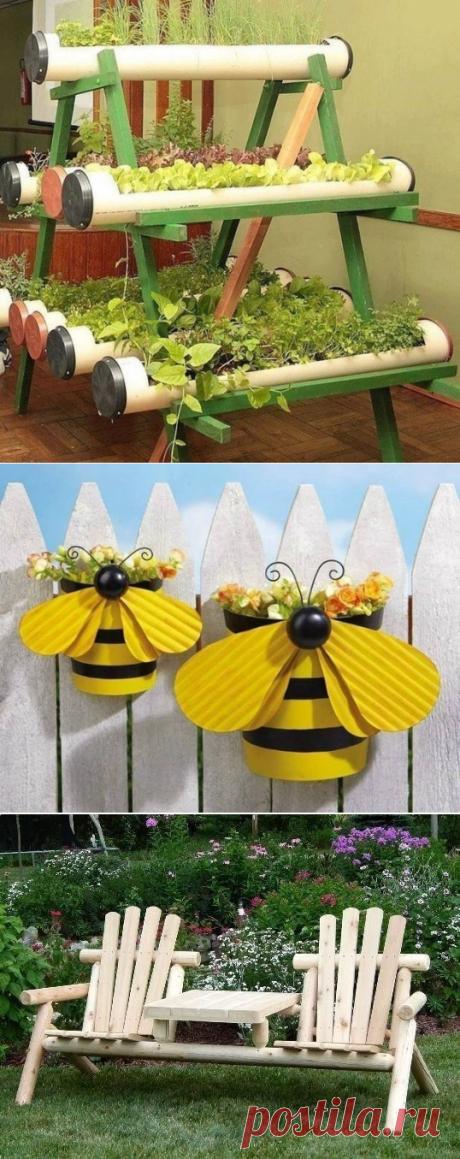 Selection of garden ideas — Kopilochka of useful tips