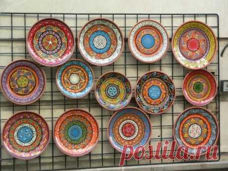 Как сделать декоративную тарелку