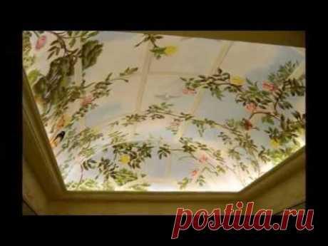 Натяжные Потолки Фото Дизайн