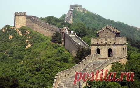 Самая грандиозная стройка всех времен – это Великая китайская стена