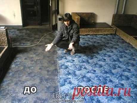As it is easy to clear a carpet (Press to share)