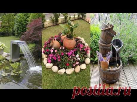 Декорирование садовых участков красивый ландшафтный дизайн двора