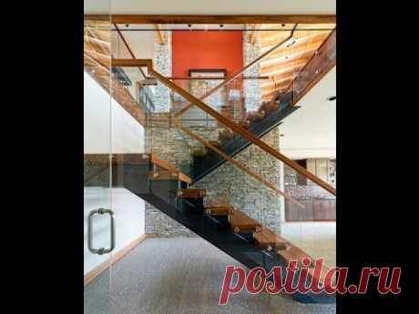 Стеклянные лестницы и ограждения из стекла