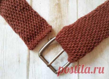 Вяжем стильный ремень крючком » «Хомяк55» - всё о вязании спицами и крючком