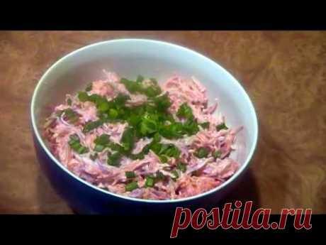 Антивирусный салат из редьки и моркови.Готовим вкусно и дёшево. - YouTube