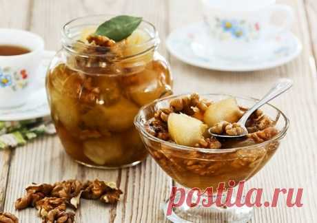 Как приготовить необычное варенье из грецких орехов? | Вкусные рецепты