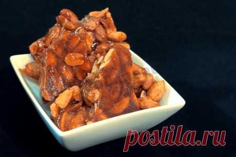 Козинаки из арахиса в микроволновке рецепт с фото - 1000.menu