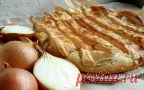 El pastel de cebolla vkusnyashka