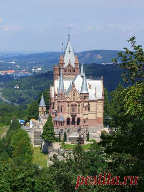 El castillo Drahenburg fantástico