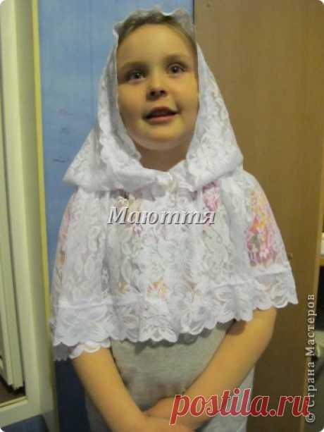 Пасхальный платок для храма. Мастер-Класс | Страна Мастеров
