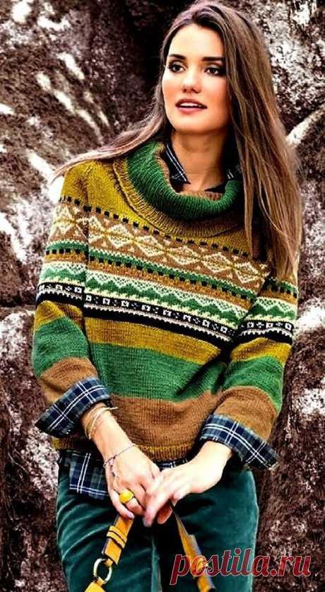 Жаккард в трэнде!!!   Asha. Вязание и дизайн.🌶   Яндекс Дзен