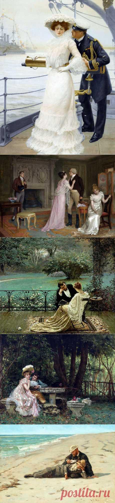 Романтическое ассорти...   Где есть любовь, там слов не надо....