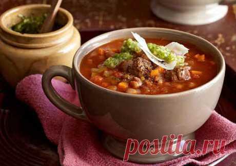 Суп с фасолью и мясом - 6 простых рецептов фасолевого супа