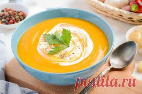 Тыквенно-сливочный суп — Sloosh – кулинарные рецепты