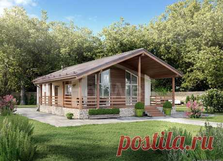 Дом из СИП панелей «Ширяево 2» 160 кв. м. от Hotwell