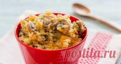 Цветная капуста с грибами: вкусное блюдо на сковороде