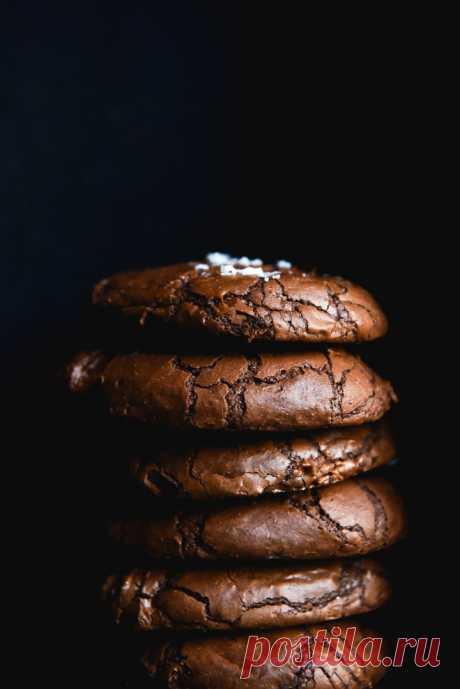 Печенье с коричневым маслом без глютена