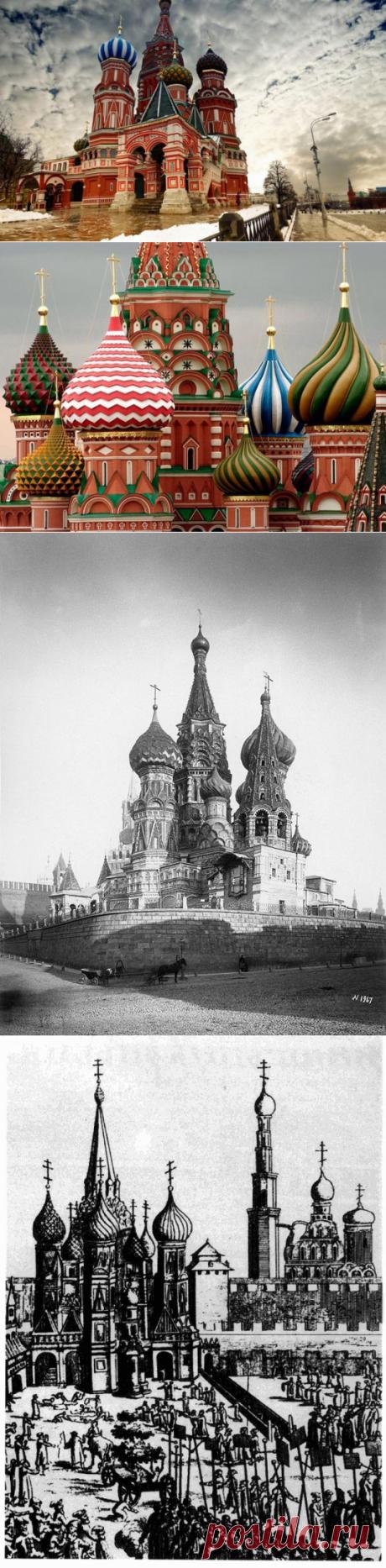 Интересные факты о соборе Василия Блаженного