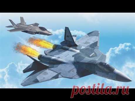 2021 апрель. Истребитель Су-57 уже превзошёл Ф-35. США признали поражение - YouTube