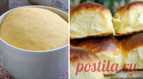 Пышные и очень мягкие булочки по ГОСТу Самые мягкие и пышные булочки.