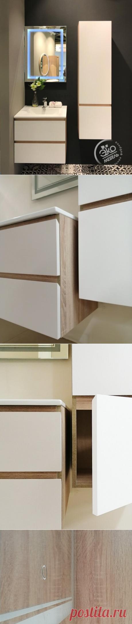 3 плюса в пользу мебели из МДФ для ванной